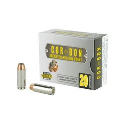 CORBON 10MM 165GR JHP - 20 Rds
