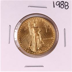 1988 $25 American Gold Eagle Coin