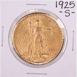 1925-S $20 St. Gaudens Double Eagle Gold Coin