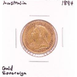 1894 Australia Sovereign Gold Coin