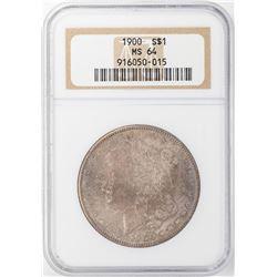 1900 $1 Morgan Silver Dollar NGC MS64