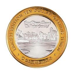 .999 Silver Casablanca Resort & Casino Mesquite, NV $10 Limited Edition Gaming Token