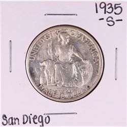 1935-S San Diego Commemorative Half Dollar Coin