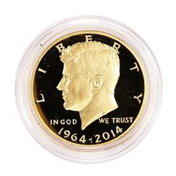 2014-W Proof Kennedy 50th Anniversary Commemorative Gold Coin