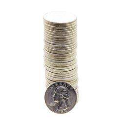 Roll of (40) Brilliant Uncirculated 1963 Washington Quarter Coins