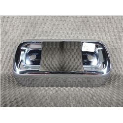 Chrome Motorcycle Light Bracket