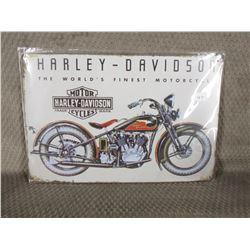 Harley - Davidson 12 inch X 8 inch Sign