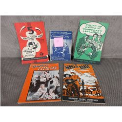 5 Vintage Music Books