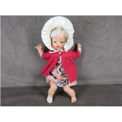 Vintage Doll, Eyes Close, Soft Body 15 in tall