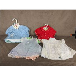 11 Various Baby / Doll Outfits
