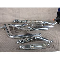 Selection of Used Motorcycle Exhaust Heat Shields