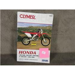 Clymer Honda Manual