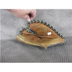 Leather Trappers Ball Glove