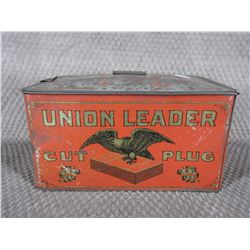 Union Leader Cut Plug Tin