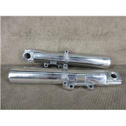 Harley 2000-13 Lower Forks & Bells - Chrome - Used