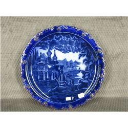 Flow Blue Plate #835R