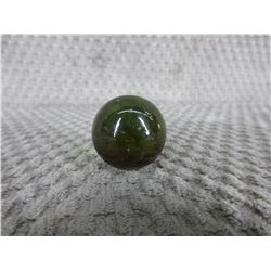 Vintage Greenish Marble 1 inch