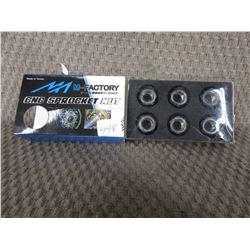 M-Factory 6 - CNC Sprocket Nuts # RSN-F01-GD