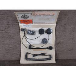 Harley Helmet Headset & Coil Cord # 77126-88