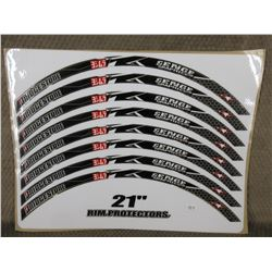 Bridgestone Wheel Protector Decals 21 Inch