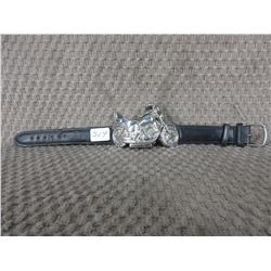 Motorcycle Watch Leather Strap - Used