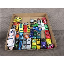 37 Misc. Hot Wheel Type Cars and Toys