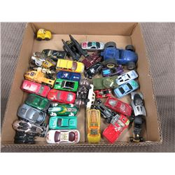 34 Misc. Hot Wheel Type Cars and Toys