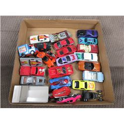 24 Misc. Hot Wheel Type Cars and Toys
