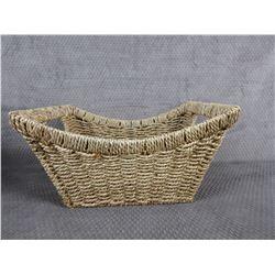 Wicker Basket 12 in X 10 in X 7 in