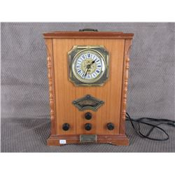 Replica of Vintage Radio with Cassette Player