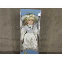 Hand Painted Porcelain Doll