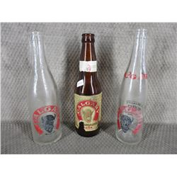 3 - Calgary Beer Bottles