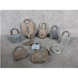 9 - Vintage Locks