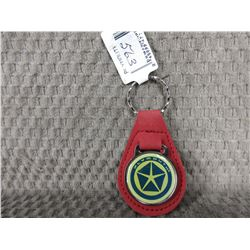 Plymouth Key Fob - Red