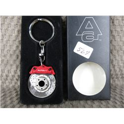 Auto Art Key Fob of Disk Brake Assembly