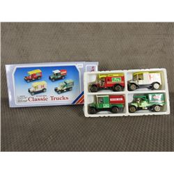 Classic Trucks Set Die Cast Metal