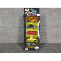 5 Star Series set of Die Cast Cars Maisto - Unopened