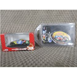 M&M David Gilliland #38 1/87 and Key Fob