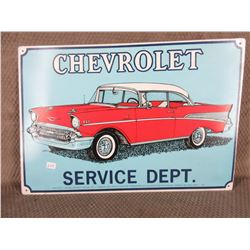Chevrolet Service Dept. Sign