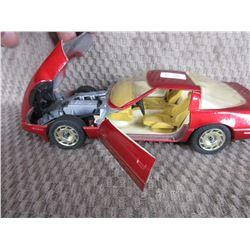 1987 Corvette Majorette 1/24