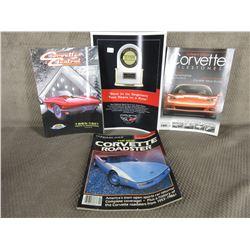 3 Corvette Magazines, Corvette JD Power Decal
