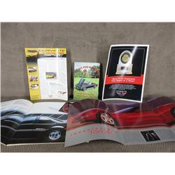 1988 Performance Cars Brochure, 1998 Corvette Brochure, Vette Vues Magazine 1985, Corvette JD Power