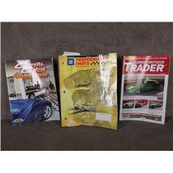 Classic Auto Trader 2008, GM Performance Parts 2003, Corvette Central Accessories Catalog