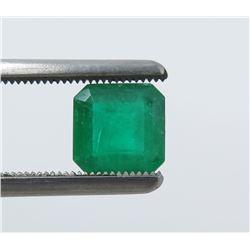 1.40 Carat Square Emerald