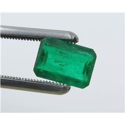 1.02 Carat Rectangular-Shaped Emerald