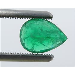 1.86 Carat Pear-Shaped Emerald