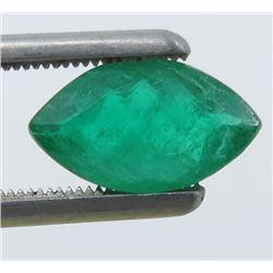 1.56 Carat Marquise Cut Emerald