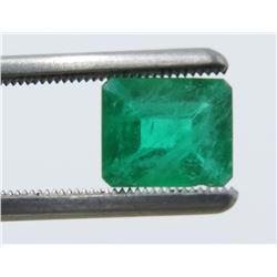 1.76 Carat Square Emerald