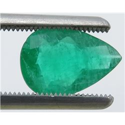 1.65 Carat Pear-Shaped Emerald