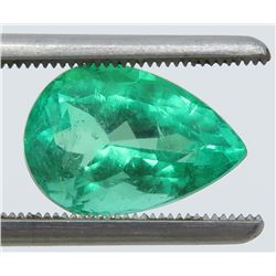 4.03 Carat Pear-Shaped Emerald (Nice Clarity)